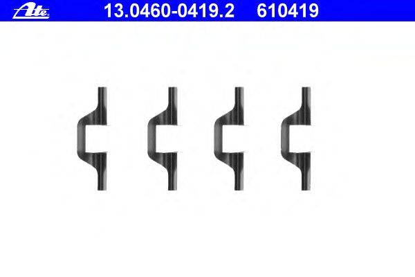 ATE (НОМЕР: 13.0460-0419.2) Комплектующие, колодки дискового тормоза
