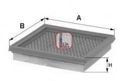 SOFIMA (НОМЕР: S 0972 A) Воздушный фильтр