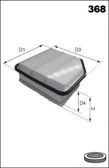 Воздушный фильтр MECAFILTER ELP9323