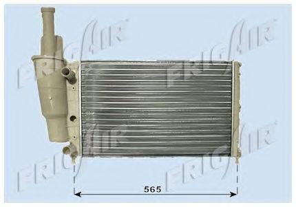 Радиатор, охлаждение двигателя FRIGAIR 0104.3002