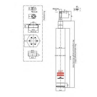 Амортизатор MASTER-SPORT 100338-PCS-MS
