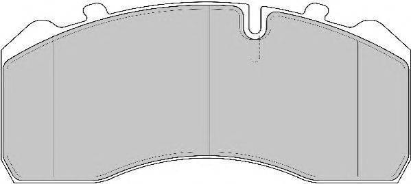 FERODO (НОМЕР: FCV1329BFE) Комплект тормозных колодок, дисковый тормоз