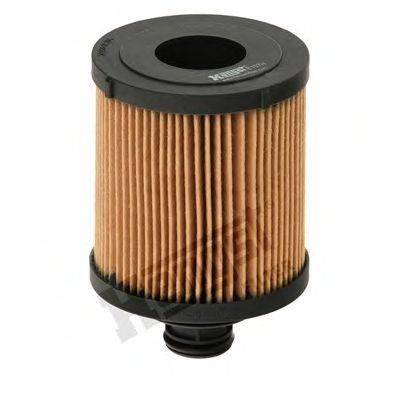 Масляный фильтр HENGST FILTER E107H D166