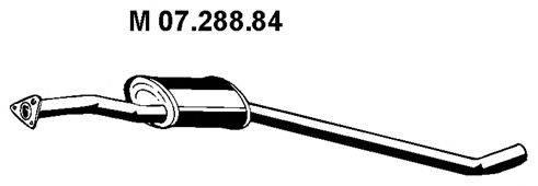 Средний глушитель выхлопных газов EBERSPÄCHER 07.288.84