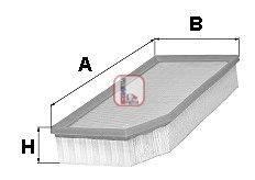 SOFIMA (НОМЕР: S 1802 A) Воздушный фильтр