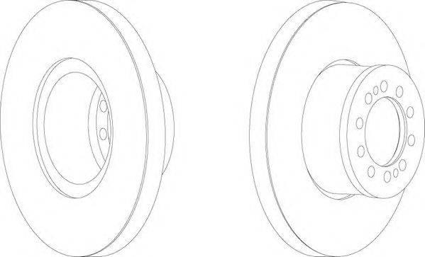 FERODO (НОМЕР: FCR303A) Тормозной диск