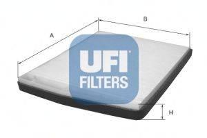 Фильтр, воздух во внутренном пространстве UFI 5309100
