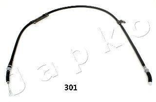 Трос, стояночная тормозная система JAPKO 131301