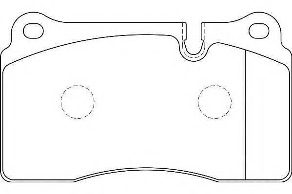 Комплект тормозных колодок, дисковый тормоз WAGNER WBP20217A