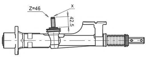 Рулевой механизм STELLOX 00-35007-SX