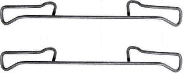 комплект принадлежностей, тормозной суппорт MINTEX MBA1150