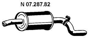 Глушитель выхлопных газов конечный EBERSPÄCHER 07.287.82