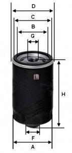 SOFIMA (НОМЕР: S 1563 R) Масляный фильтр