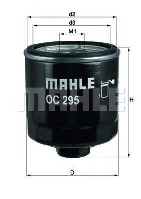 Масляный фильтр MAHLE ORIGINAL OC295