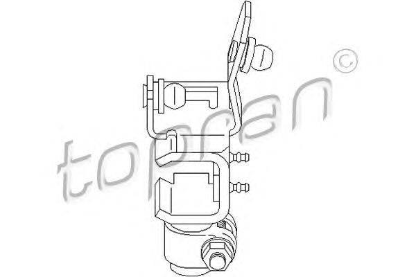 Ремкомплект, рычаг переключения TOPRAN 111330