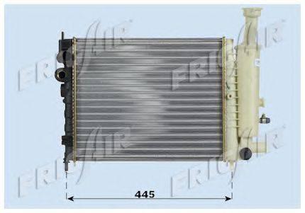 Радиатор, охлаждение двигателя FRIGAIR 0103.3039