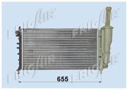 Радиатор, охлаждение двигателя FRIGAIR 0104.3062