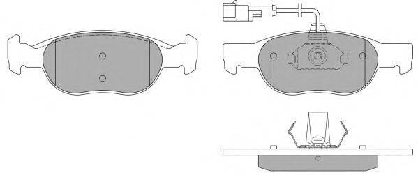FREMAX (НОМЕР: FBP-0969) Комплект тормозных колодок, дисковый тормоз