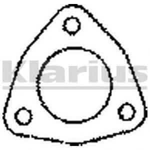 Прокладка, труба выхлопного газа KLARIUS 410001