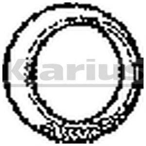 Прокладка, труба выхлопного газа KLARIUS 410316