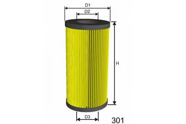 Топливный фильтр MISFAT F007
