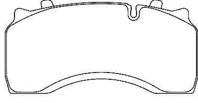 FERODO (НОМЕР: FCV1389) Комплект тормозных колодок, дисковый тормоз