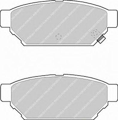 FERODO (НОМЕР: FDB1013) Комплект тормозных колодок, дисковый тормоз