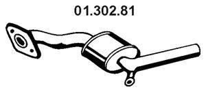 Средний глушитель выхлопных газов EBERSPÄCHER 01.302.81