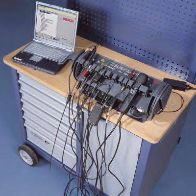 Испыт. прибор, двигатель BOSCH DIAGNOSTICS 0 684 010 500