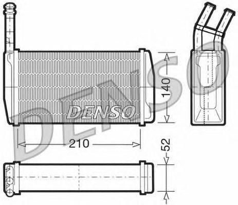 Теплообменник, отопление салона NPS DRR10011