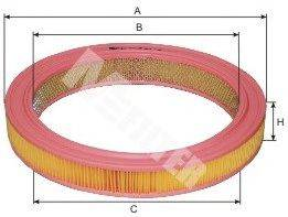Воздушный фильтр MFILTER A 115
