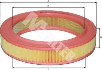 Воздушный фильтр MFILTER A 127