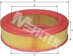 Воздушный фильтр MFILTER A 129