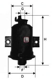 SOFIMA (НОМЕР: S 1560 B) Топливный фильтр