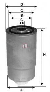 SOFIMA (НОМЕР: S 1812 NR) Топливный фильтр