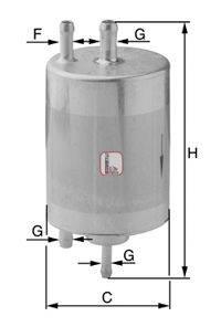 SOFIMA (НОМЕР: S 1834 B) Топливный фильтр