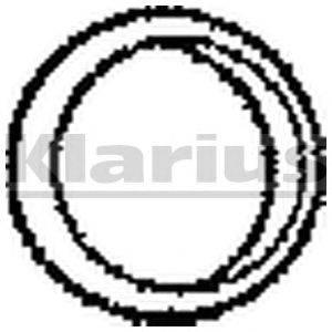 Прокладка, труба выхлопного газа KLARIUS 410078