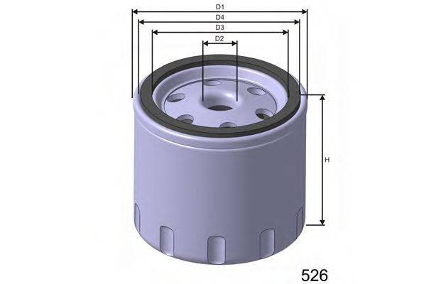 Патрон осушителя воздуха, пневматическая система MISFAT DS001