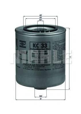 Топливный фильтр KNECHT KC33