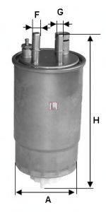 SOFIMA (НОМЕР: S 0ONE NR) Топливный фильтр