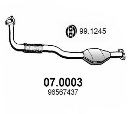 Катализатор ASSO 07.0003