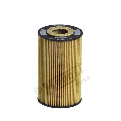 Масляный фильтр HENGST FILTER E104H D43