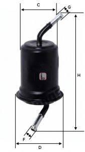 SOFIMA (НОМЕР: S 1520 B) Топливный фильтр