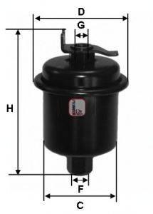 SOFIMA (НОМЕР: S 1621 B) Топливный фильтр