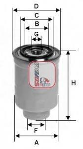 SOFIMA (НОМЕР: S 1446 NR) Топливный фильтр