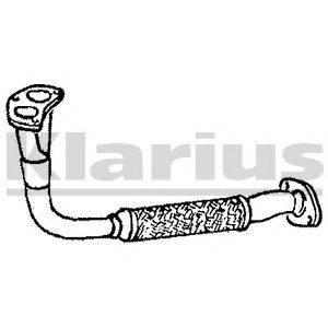 Труба выхлопного газа KLARIUS 110107