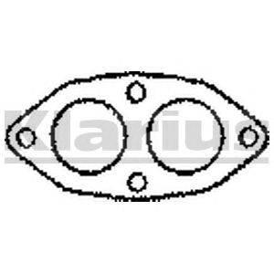 Прокладка, труба выхлопного газа KLARIUS 410193