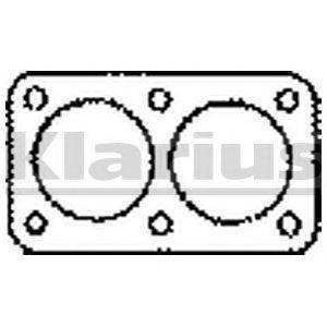 Прокладка, труба выхлопного газа KLARIUS 410228