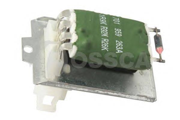 Сопротивление, вентилятор салона OSSCA 00325