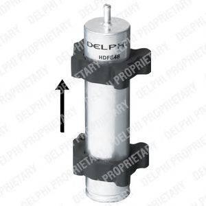 DELPHI (НОМЕР: HDF548) Топливный фильтр